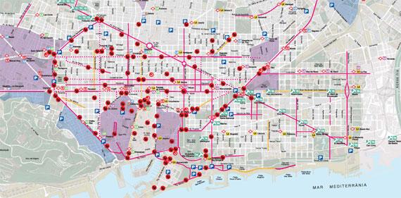 Barcelona Sehenswürdigkeiten Karte.Fahrrad Mieten In Barcelona Alle Verleiher Vergleichen